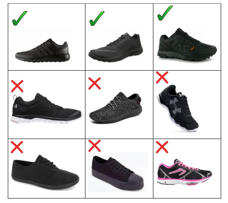 School Uniform Changes (footwear