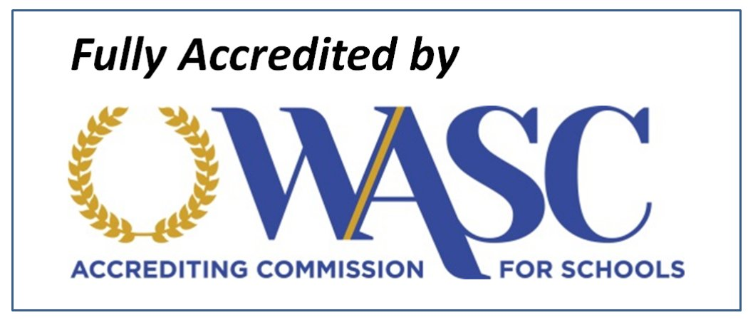 Western Association of Schools and Colleges (WASC) Accredited