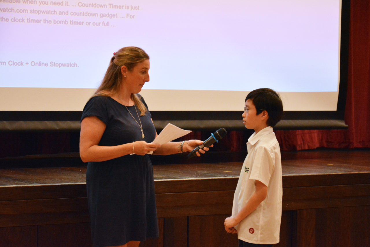 French & Spanish Spelling Bee 2019 - South Island School - ESF